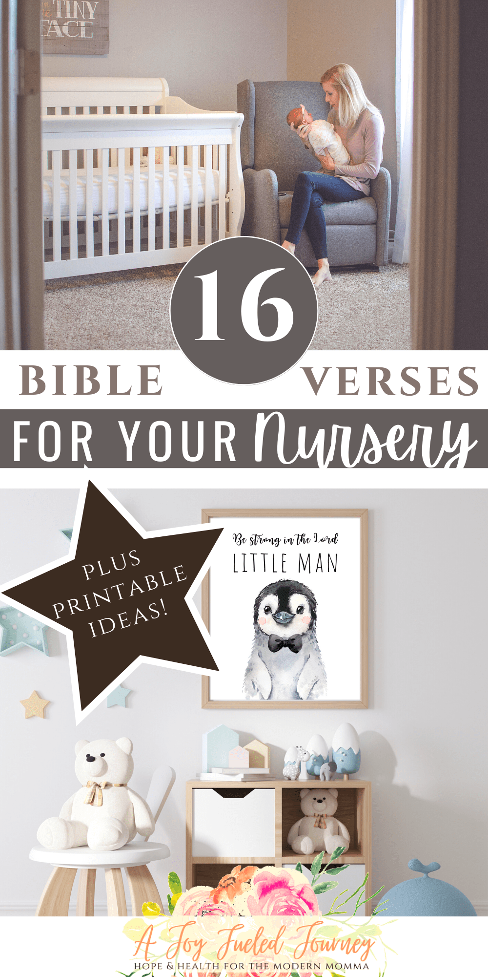 16 Nursery Bible Verses For Your Little One   A Joy Fueled ...